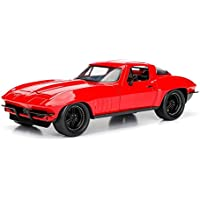 Jada Toys Fast & Furious 8 Diecast '66 Chevy Corvette Vehicle (1:24 Scale)