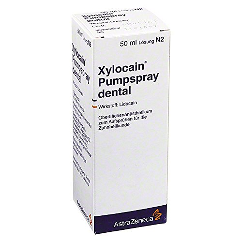Xylocain Pumpspray Dental, 50 ml