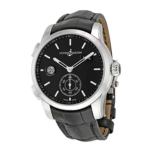 Ulysse Nardin Gmt Dual Time Men's Automatic GMT Watch - Ulysse 92 Watches Nardin