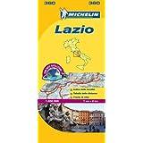 Lazio - Michelin Local Map 360 (Michelin Local Maps)