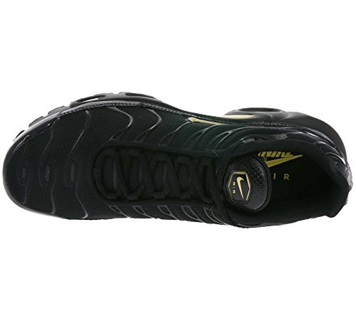 Nike Mænds Air Max Plus Sko Sort (sort / Guld Mtlc 022) JWO23J
