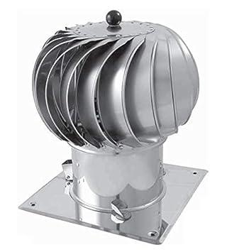 Kaminaufsatz drehbarer Kugelaufsatz Schornsteinaufsatz L/üftungsaufsatz Ofen Kamin Turbo ⌀150mm