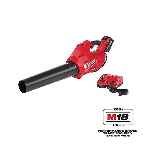 Milwaukee M18 FUEL 100 MPH 450 CFM 18-Volt Lithium-ion Brushless Cordless Handheld Blower (Stihl Leaf Blowers Gas Powered)