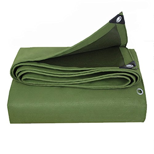 Cover Heavy Duty Canvas Wheel (CHAOXIANG Tarpaulin Waterproof Heavy Duty Thicken Insulation Shade Cloth Foldable Double Sided Waterproof Poncho Canvas, 700G/㎡, 15 Size (Color : Strip wheel, Size : 2X3m))