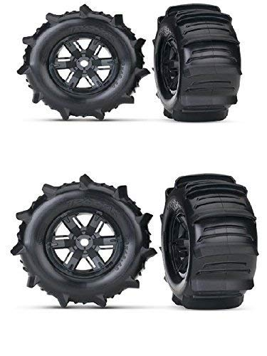 Traxxas E-maxx Brushless - Traxxas X-MAXX Paddle Wheels That GIVE You The Ability to GO Across Water with Your Truck. Everyone HAS SEEN The Video and These Tires and Wheels are What Make IT Happen