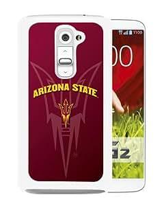 LG G2 Arizona State White Screen Phone Case Charming and Luxury Design