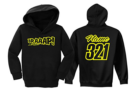 JUST RIDE Braaap Toddler Youth Hoodie Sweat Shirt Motocross for sale  Delivered anywhere in USA