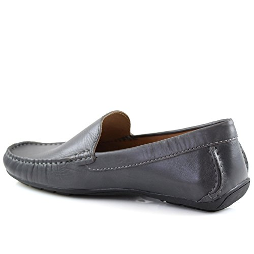 Marc Joseph Shoes Broadway Venetian Mens Made Brazil Fashion Leather Genuine in Napa NY Loafer Gray Wq77w8zgpx