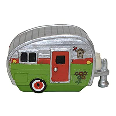 Fairy OR GNOME Garden Camper (Green) : Garden & Outdoor