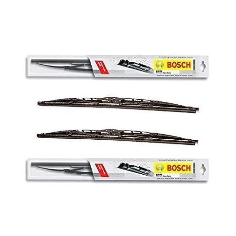 2 x scheib enwicher Bosch Eco - RENAULT CLIO II de BJ. 03.98 - 05.09/53 C + 45 C - Un Juego: Amazon.es: Coche y moto