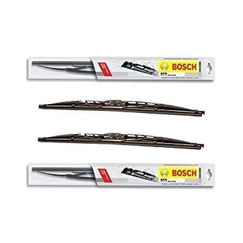 2 x scheib enwicher Bosch Eco - AUDI A6 Avant Allroad de BJ. 05.00 - 12.00/55 C + 53 C - Un Juego: Amazon.es: Coche y moto