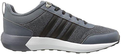 new style d06cf e17c3 Amazon.com   adidas Men s Cloudfoam Race WTR Running Shoe, Onix Black Solar  Gold, 8 D - Medium   Road Running