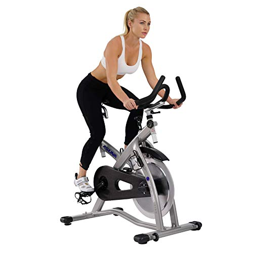 ASUNA Sabre Cycle Exercise Bike – Magnetic Belt Drive Commercial Indoor Cycling Bike