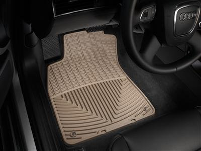 2013 Toyota Sienna Tan WeatherTech Floor Mat (Full Set: 1st, 2nd, and 3rd Row; With Center Aisle Mat) [Seating for 7 Passengers]