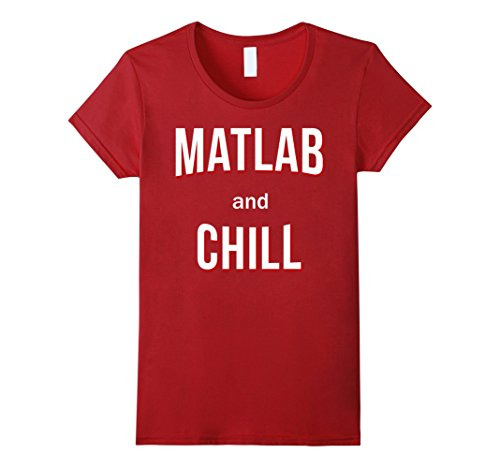 Womens Matlab And Chill Large Cranberry