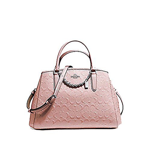 Coach Pink Patent Leather Bag - 1
