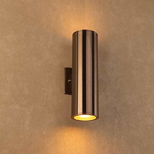 Outdoor Wall Lamp - UL LISTED Porch Light Fixture, IP54 Waterproof ...