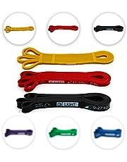 Ryher Bande Elastiche Resistenza Pull up - Elastici Fitness per trazioni casa e Palestra -Banda Allenamento per Fitness, Crossfit, Bodybuilding, Stretching