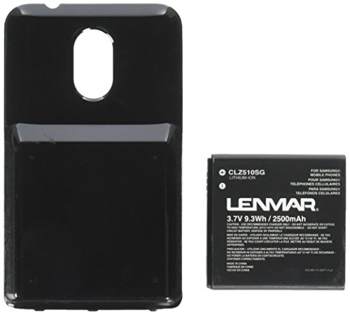 Lenmar Clz510sg Extended Battery for Samsung Galaxy S II, Epic 4g Touch, Sph-d710 Cellular Phones - Retail Packaging - (Epic 4g Cell Phone)