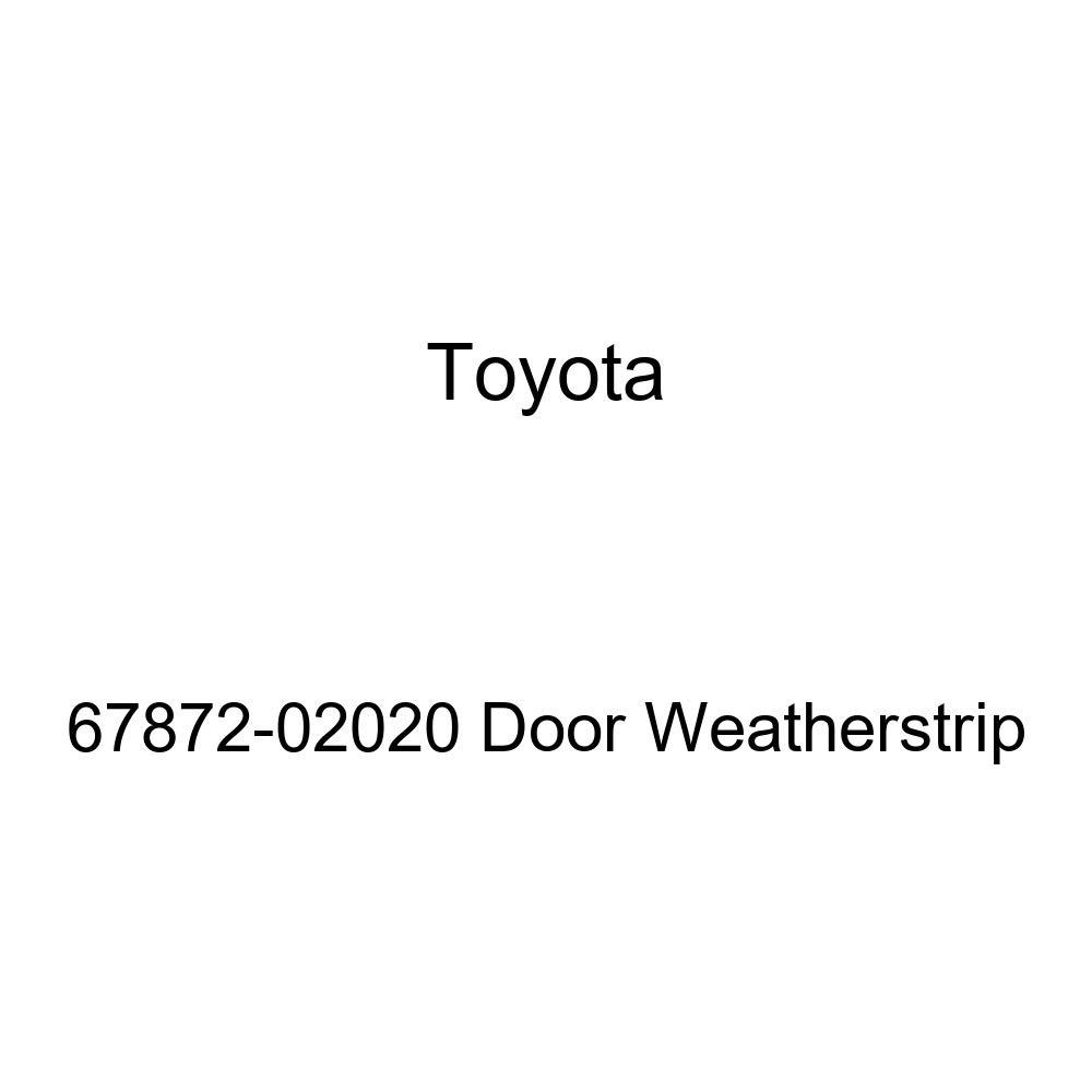 TOYOTA Genuine 67872-02020 Door Weatherstrip