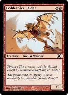 Magic: the Gathering - Goblin Sky Raider (210/383) - Tenth Edition