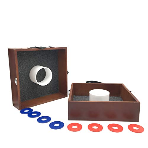 SPORT BEATS Washer Toss Game Premium Wood washers Game Yard Game-3 Options to Choose from! ()