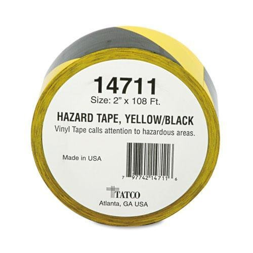 TCO14711 - Tatco Hazard/Aisle Marking Tape (Marking Tatco Hazard Tape)