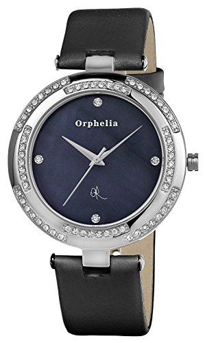 Orphelia OR22170344 - Women's Watch, Leather, Black Color