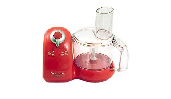 Moulinex dfb10 a41 Robot Delicio rojo: Amazon.es: Hogar
