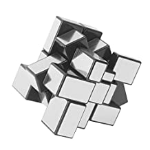 Magic Cube ShengShou 3 x 3 Silver Mirror Cube Puzzle Speed By USATDD