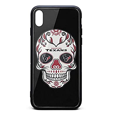 Black Shockproof Anti-Scratch Phone Case Back Cover for iPhone Xs Iphonexs Cute Non-Slip 3D Printed PC TPU for Football Fans