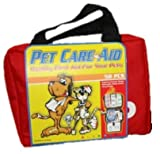 Premium Pet First Aid Kit for Dogs and Cats - 58 Pc Soft Case - For Disaster Preparedness and Emergencies