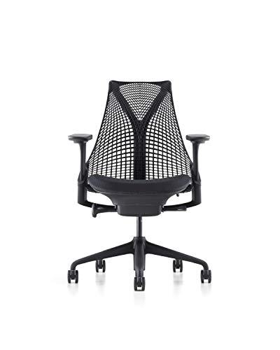 Herman Miller AS1SA22HFN2BKBBBKBK9201 Sayl Chair, Crepe Licorice