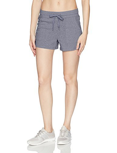 Jockey Women's Vintage Jersey Short, Dirty Denim, L