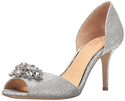 Badgley Mischka Frauen Pumps Silver