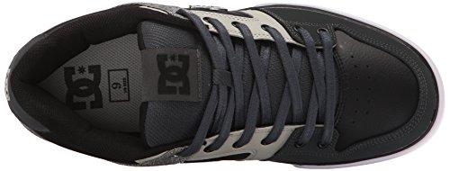 DC Men's Pure SE Skate Shoe, Grey/Black/Grey, 7 M US