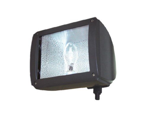Floodlight 150w Quad Halide Metal - Ark Lighting Swoop Back Flood Light AFL235-150MH/PS 150W METAL HALIDE PULSE START QUAD TAP