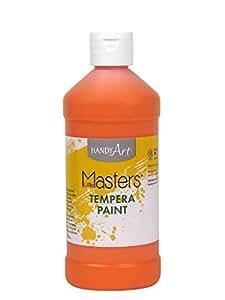 Handy Art Little Masters Tempera Paint 16 ounce, Orange