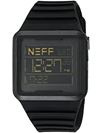 Men's NF0234BLCK Odyssey Digital Display Chinese Automatic Black Watch