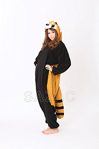 Red Panda Kigurumi - Adult Halloween Costume Pajama (One Size Fits All)