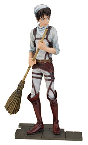 (Banpresto Attack on Titan 6.5-Inch Eren Yeager DXF Figure, Cleaning)