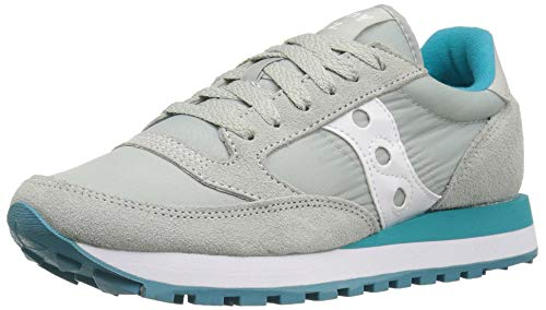 Saucony Damen Jazz Original Cross-Trainer Light Grey/Green