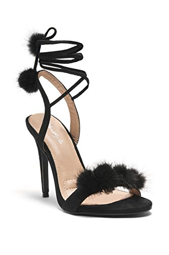 HerStyle Elissee Pom Poms accents Stiletto product image