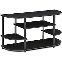 FURINNO Furinno JAYA Simple Design Corner TV Stand, 15116EX