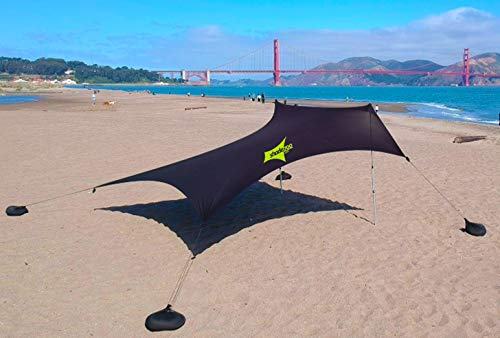 ShadeZoo shademaker Lightweight Ultimate Protection from The Sun UPF 50 , rain and Sand at The Beach, The Park or in Your Back Yard
