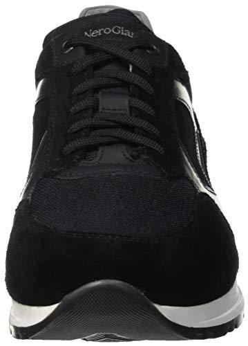 Giardini Nero Sneaker Uomo Camo Nero Nero 100 Infilare Colorado dqzw06