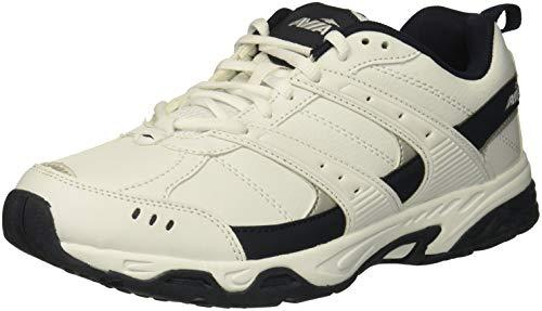 (Avia Men's Avi-Verge Sneaker, White/True Navy, 10.5 Wide US)