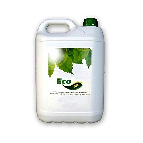 Induquim Lavavajillas Ecológico Jabón Manual Ecosol 5 L.: Amazon ...