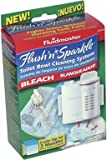 Fluidmaster 8300P8 Flush 'N' Sparkle Toilet Bowl Cleaning System
