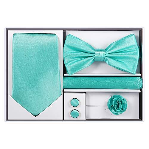 5pcs Tie set (Aqua) -
